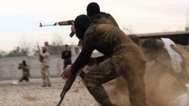 Pemberontak dukungan asing di Suriah..