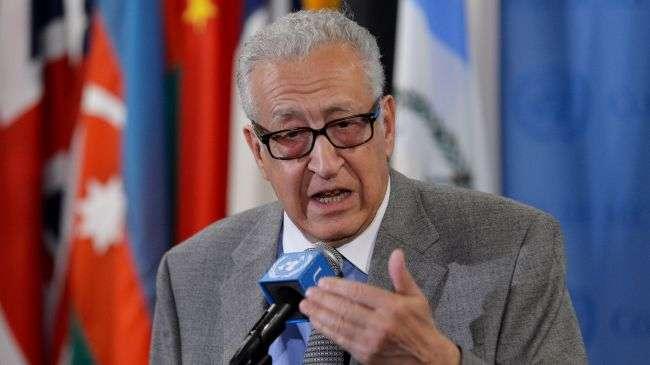 Lakhdar Brahimi. Utusan Khusus PBB dan Liga Arab untuk Suriah