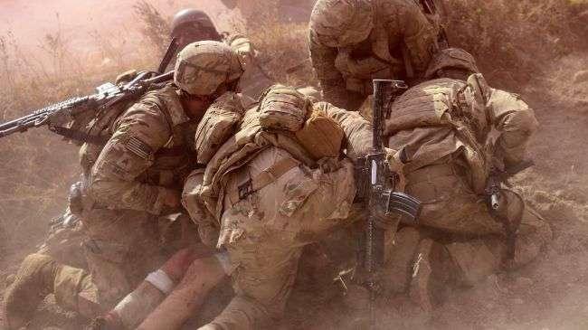 Tentara AS di Afghanistan...
