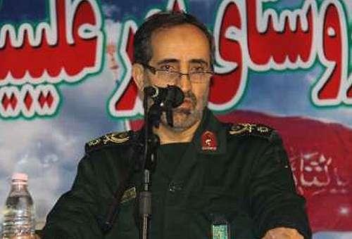 Brigadir Jenderal Ali Shadmani, Komandan Garda Revolusi Islam Iran