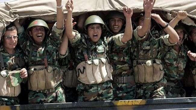 Tentara Suriah, semangat tinggi untuk menang.jpg