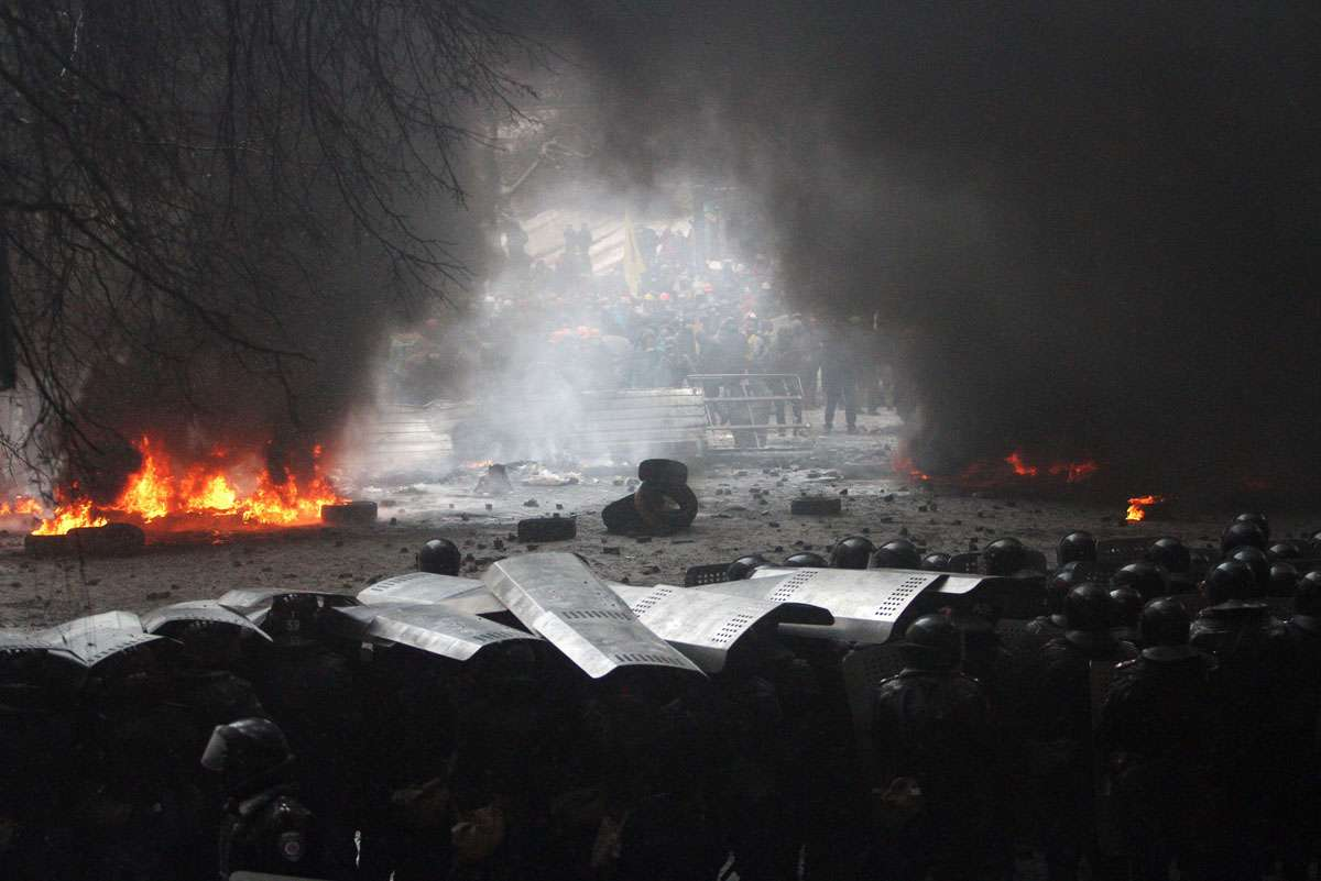Demo Ukraini (AFP)