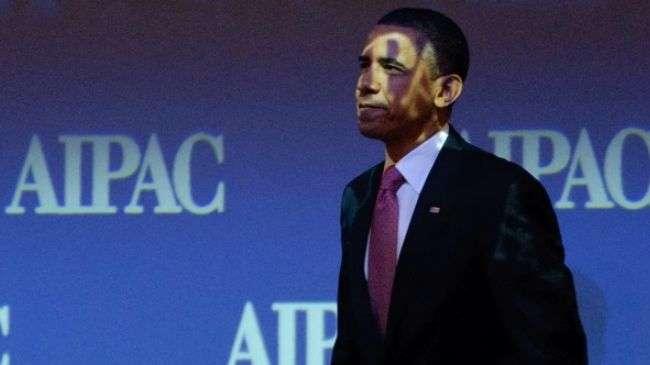 Barack Obama, bayang bayang AIPAC