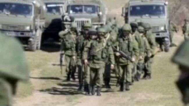 Tentara Rusia dekat dengan perbatasan Ukrainia.jpg