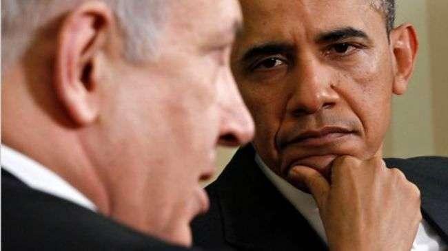 Barack Obama, AS dan Benjamin Netanyahu, Zionis Israel