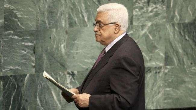 Mahmoud Abbas, Bertindak Ketua Otoritas Palestina di PBB.jpg