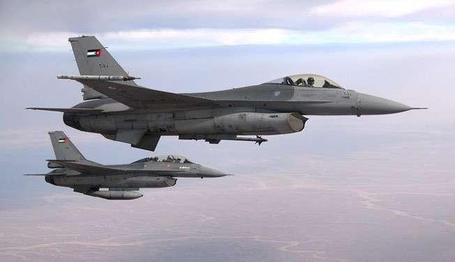 Jet Tempur Yordania (Ilustrasi)