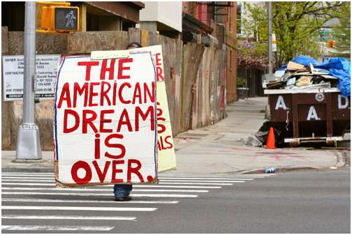 The American dream is over (endthelie)