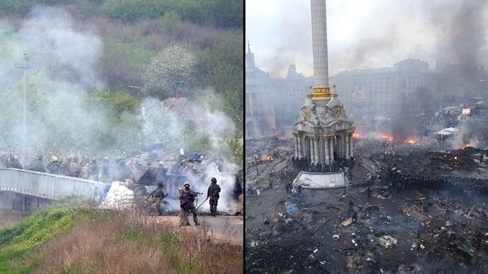 Kebakaran di Ukraina (RT)