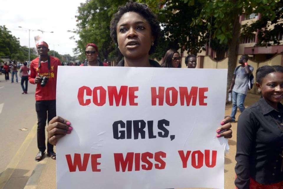 Protes Boko Haram di Nigeria