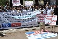 حکومت پاکستان فلسطینیوں کے حق کی واپسی کیلئے اقوام متحدہ میں قرارداد پیش کرے، فلسطین فاؤنڈیشن