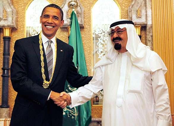 Obama dan Abdullah