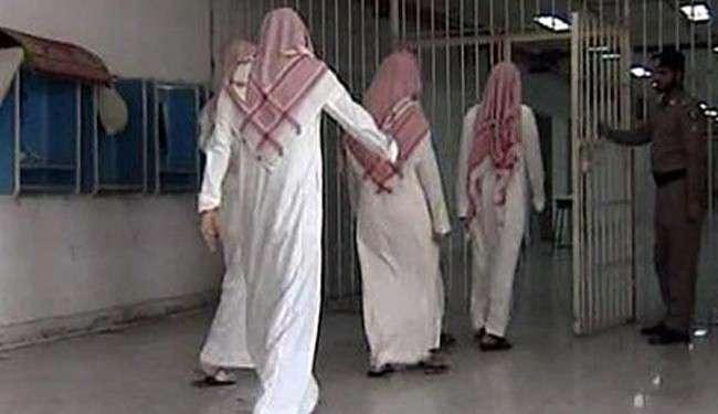 Ilustrasi para tahanan Saudi dijebloskan penjara