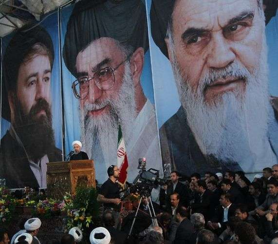 تہران، امام خمینی (رہ) کی 25ویں برسی کی مناسبت سے انکے مزار اقدس پر ایرانی صدر ڈاکٹر حسن روحانی کا خطاب