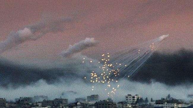 Bom Fosfor Zionis Israel di Gaza.jpg