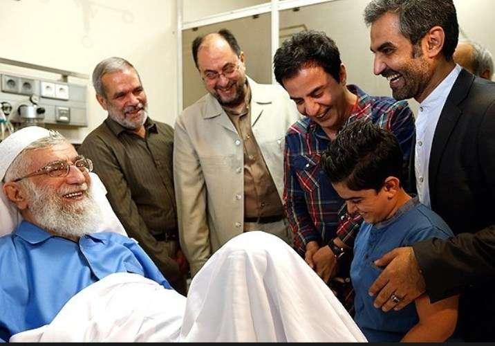 ایرانی مسئولین اور دیگر مختلف شخصیات کیجانب سے رہبر انقلاب اسلامی کی عیادت کا سلسلہ جاری