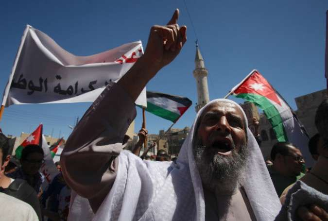 Jordanians rally to slam gas deal with Israel