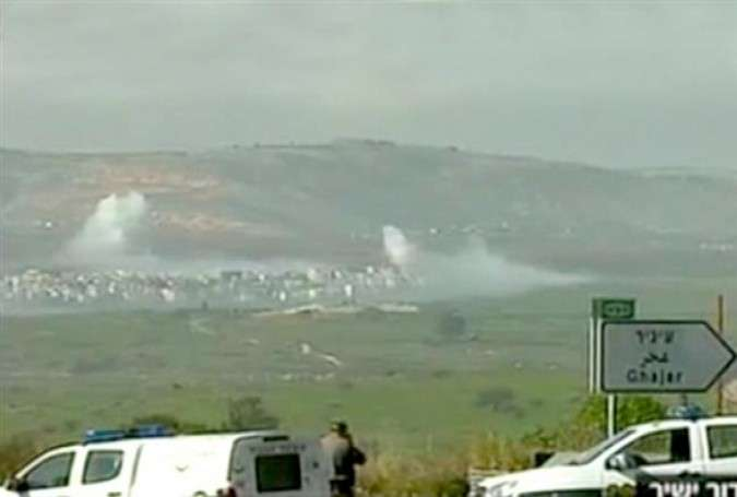 Israel shelling Lebanon after Israeli soldiers were killed in a missile attack.
