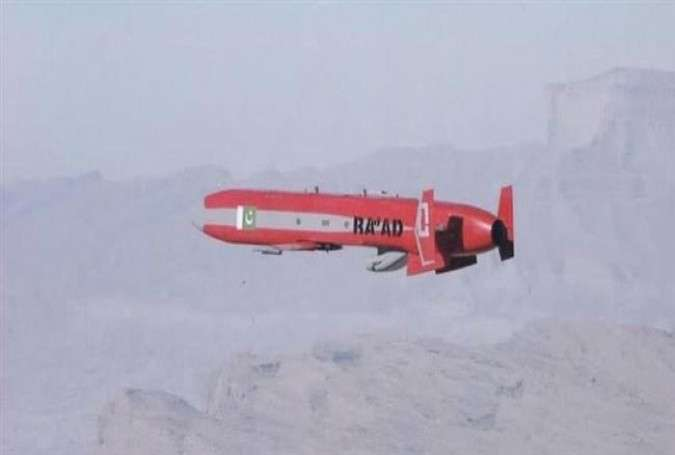 Ra'ad. Pakistan's nuclear-capable air-launched cruise missile.jpg