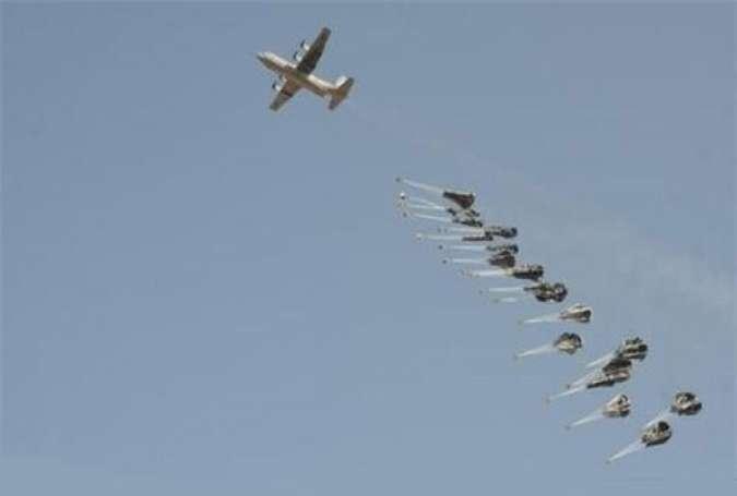 Pesawat koalisi (Fars News).