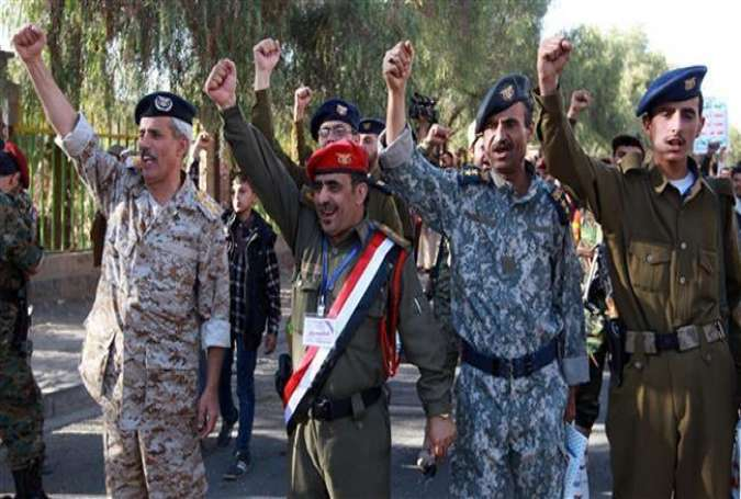 Tentara Yaman, loyal pada kelompok Ansarullah Houthi.jpg