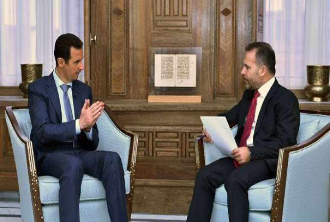 "President Assad: Terrorism Has No Borders, Will ""Bite"" its Backers"