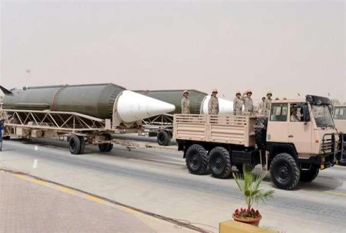 DF-3A, rudal balistik jarangkauan menengah Saudi Arabia.jpg