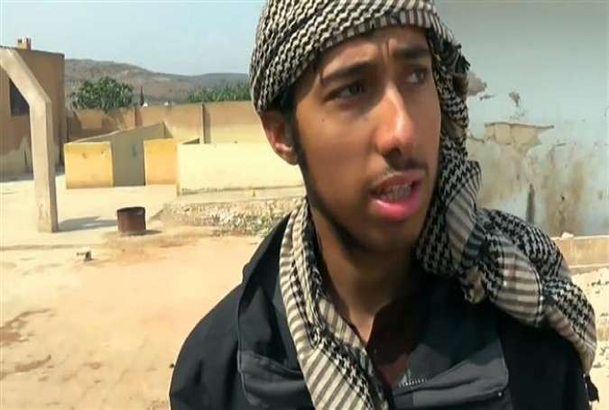 A British ISIL member is seen in Syria