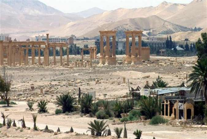 This photo released by Syria's SANA news agency on May 17, 2015, shows the ancient oasis city of Palmyra, 215 kilometers northeast of Syria