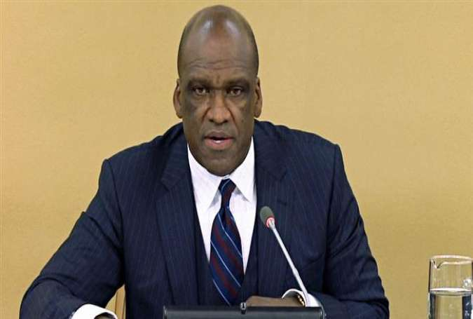 John Ashe, a former president of the United Nations General Assembly