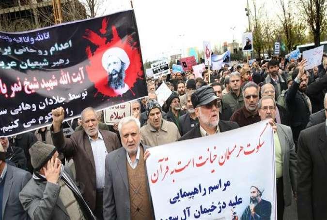 Warga Iran Kembali Gelar Demonstrasi Baru Mengecam Saudi