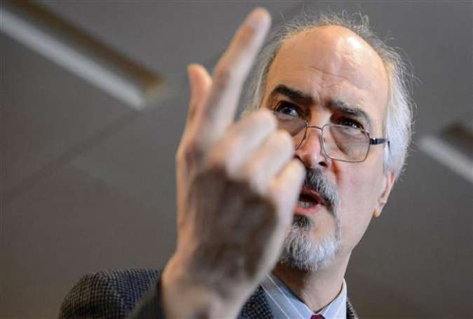 Syrian Ambassador to the UN Bashar al-Jaafari