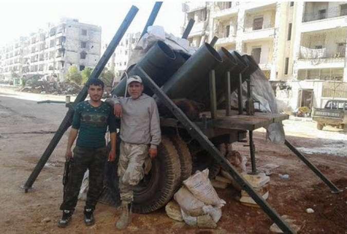 بمباران شیمیایی کردهای حلب توسط گروه تروریستی تکفیری ارتش آزاد