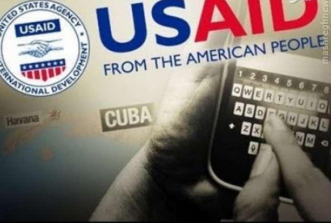 سازمان آمریکایی برای نفوذ بشردوستانه، خرابکاری و کودتا