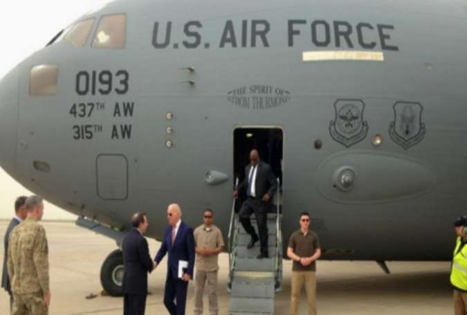سفر غیر منتظره معاون رئیس جمهوری آمریکا به بغداد