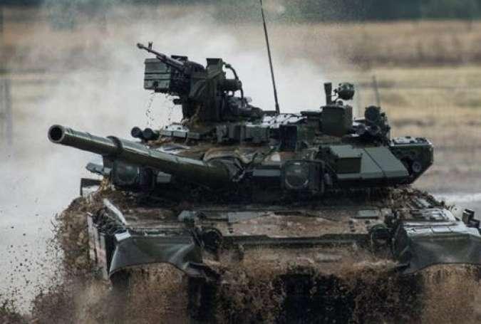 آمادگی روسیه برای تولید تانک تی-90 در ایران