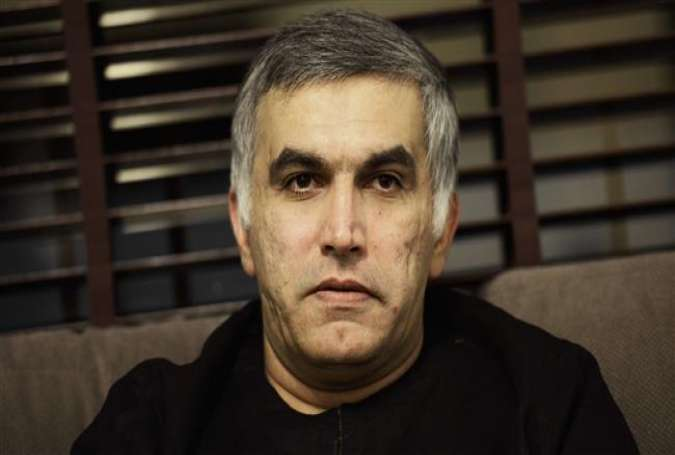 Senior Bahraini opposition leader and human rights activist Nabeel Rajab