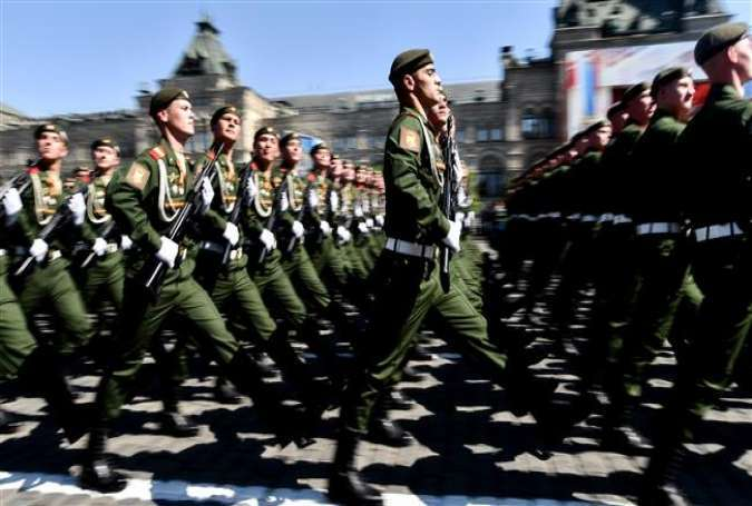Moscow manifests military might with pomp and parade