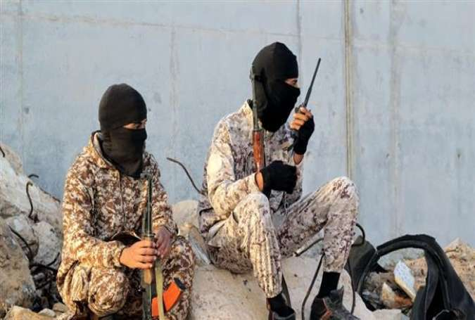 Daesh terrorists in the northern Libyan city of Sirte