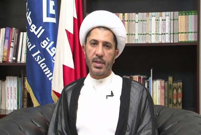 Imprisoned senior Bahraini opposition leader Sheikh Ali Salman
