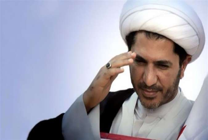 Sheikh Ali Salman, the head of Bahrain's opposition movement al-Wefaq National Islamic Society