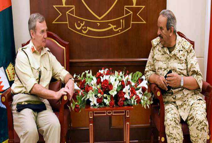 "British Military Official's Visit to Bahrain ""Green Light"" to Oppression"