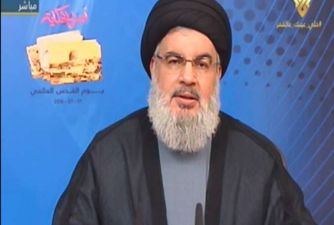 Muslims to not Abandon Palestinians: Sayyed Nasrallah