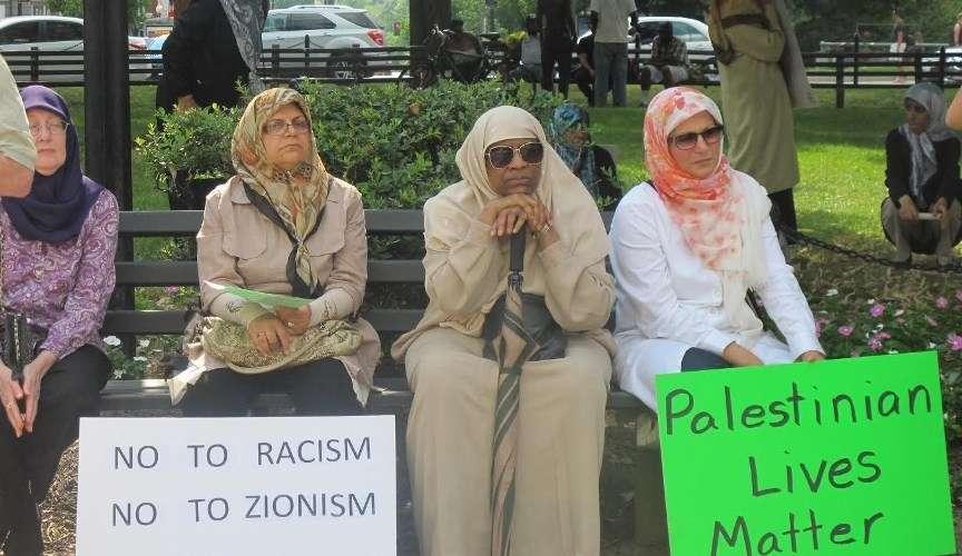واشنگٹن میں القدس ریلی
