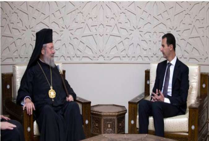 President Assad: Terrorist Attack on Syria Aims to Spread Takfirism