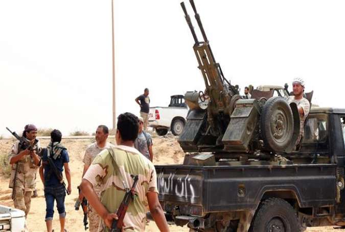 Forces loyal to Libya