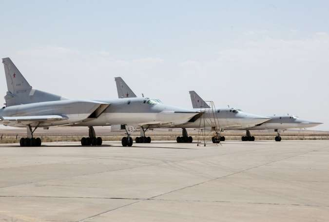 Russian Bombers Strike ISIS from Iran's Hamadan Airbase