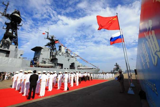 China, Russia launch South China Sea naval wargames