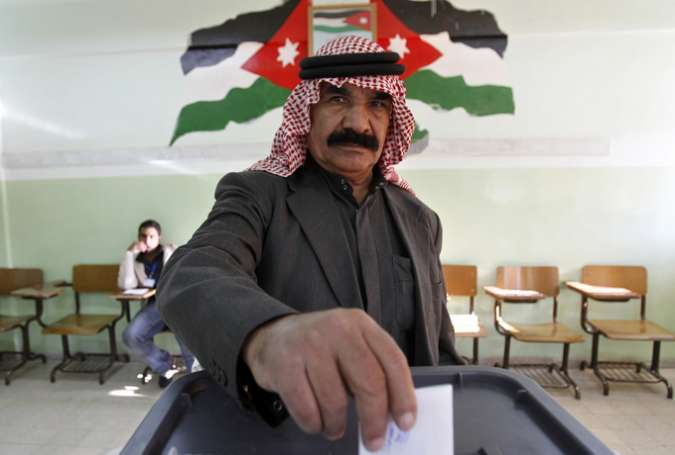 Jordanians Cast Their Vote
