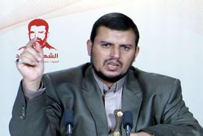 Abdul-Malik al-Houthi, leader of the Yemeni Ansarullah movement
